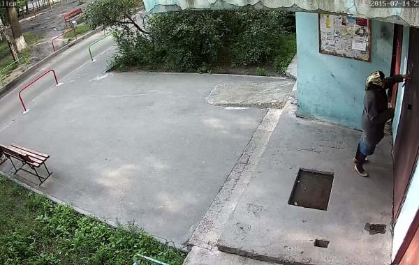 Уличная камера 1920х1080 день